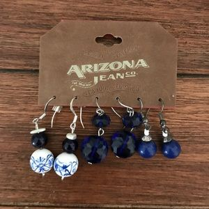 Various Blue Earrings